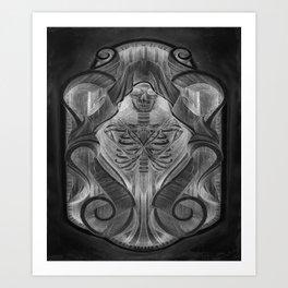 The Keeper V2 Art Print