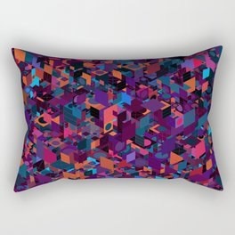 Panelscape: colours from Circles  Rectangular Pillow