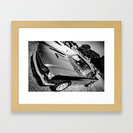 Grey at The Lawns Framed Art Print