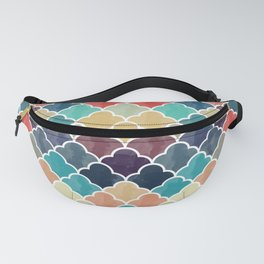 Watercolor Lovely Pattern VVXI Fanny Pack