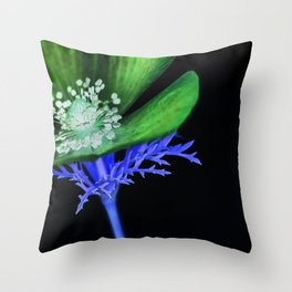 Blacklight Throw Pillow