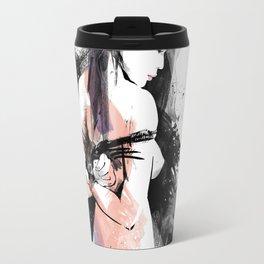 Shibari - Japanese BDSM Art Painting #9 Travel Mug