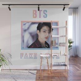 BTS Fake Love Design - Jungkook Wall Mural