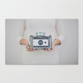 Polaroid Magic Canvas Print