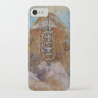 football iPhone & iPod Cases featuring Football by Michael Creese