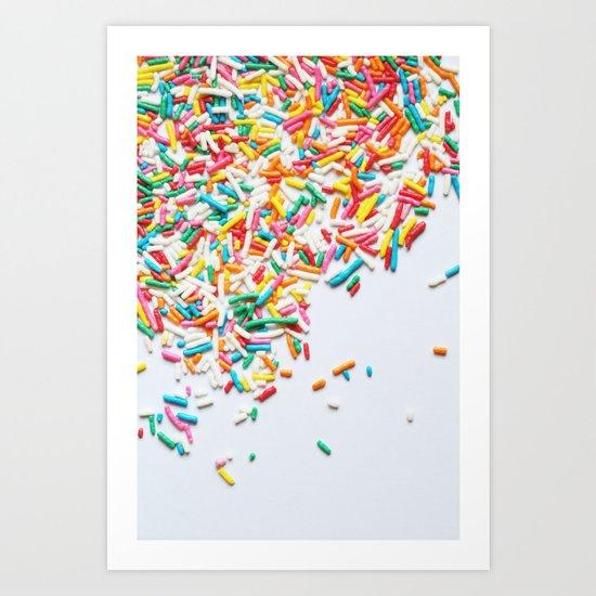 Sprinkles Party II Art Print