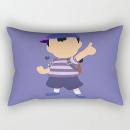 Ness(Blue)Smash Rectangular Pillow