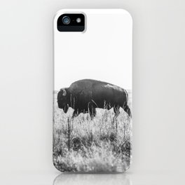 Bison strut iPhone Case