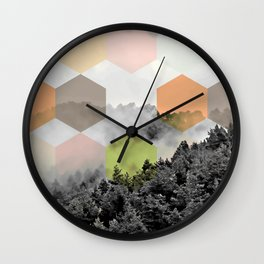 Explained Dimensionality V2 #society6 Wall Clock