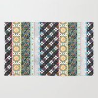 boho Area & Throw Rugs featuring Boho by Designed by Debby
