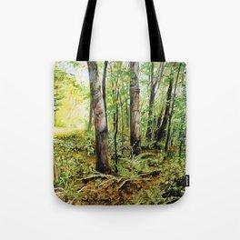 Forest Woods Vermont Landscape Tote Bag