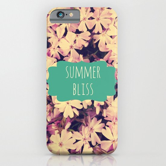 Summer Bliss iPhone & iPod Case