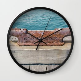 Rusted Wall Clock