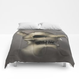 Skull and fingers Comforters