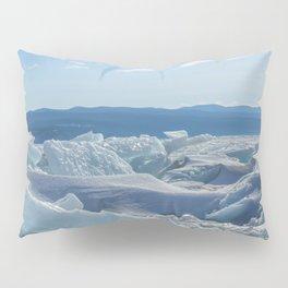 Pressure Ridges of Ice Lake Pillow Sham