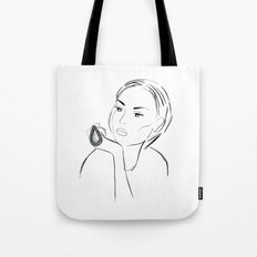 Marble Ring Tote Bag