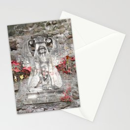 Sphinx in Roma - Red Stationery Cards