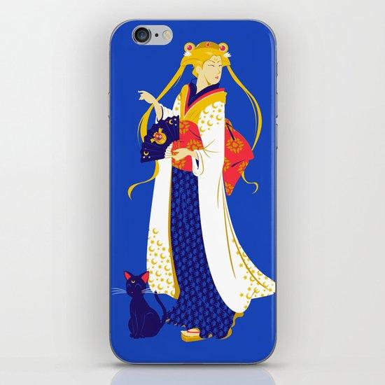 Geisha Moon iPhone & iPod Skin