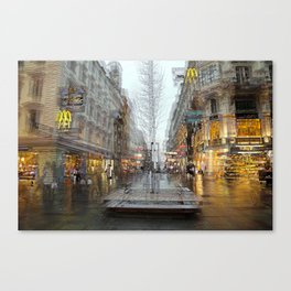 The Karntner Strasse Vienna  Canvas Print