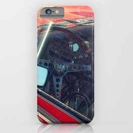 Red jag, Red car iPhone Case