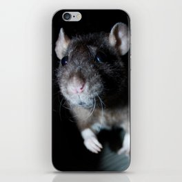 Oeps... the can see me! iPhone Skin
