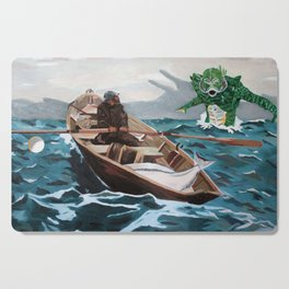 "Winslow Homer's ""Storm Warning"" Revisted Cutting Board"