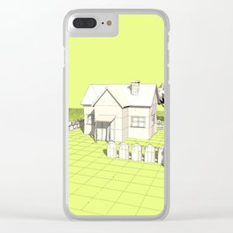 Rural scene Clear iPhone Case