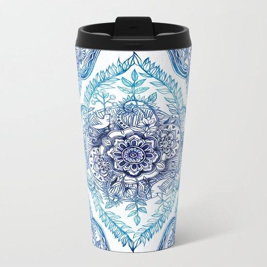 Indian Ink - in Blues Metal Travel Mug