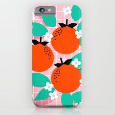 Bodacious - modern abstract minimal 1980s throwback memphis design trendy palm springs art Slim Case iPhone 6s