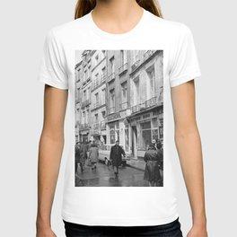 Rue des Rosiers, in het centrum van de Joodse wijk Le Marais, Bestanddeelnr 254 0548 T-shirt