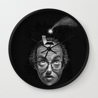 inspiration Wall Clocks featuring Inspiration by Hulliballoo Smith