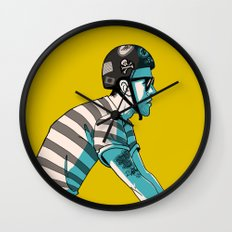 MIKE'S BIKE Wall Clock