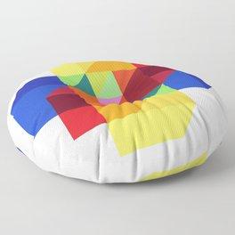 hypercube prism  Floor Pillow