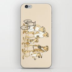 Hipster Meerkats iPhone & iPod Skin