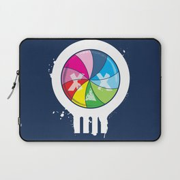 Pinwheel of Death Laptop Sleeve