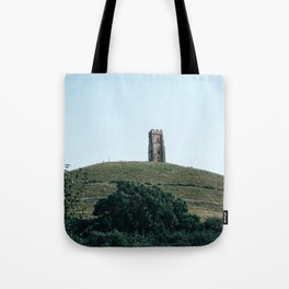 glastonbury tor Tote Bag