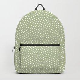 Little Dots Soft Green Backpack