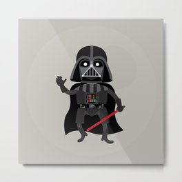 Dath Vader Metal Print