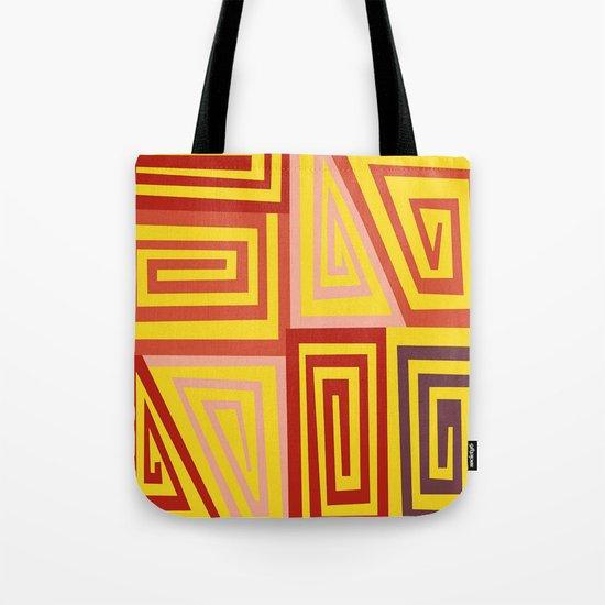 8 Spirals Tote Bag