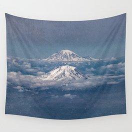 Mount Adams Mt Rainier - PNW Mountains Wall Tapestry