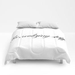 Like, realizing stuff - Kylie Jenner joke Comforters