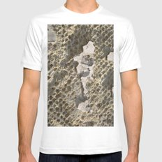 Herculaneum Mens Fitted Tee MEDIUM White