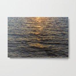 The sun goes down Metal Print