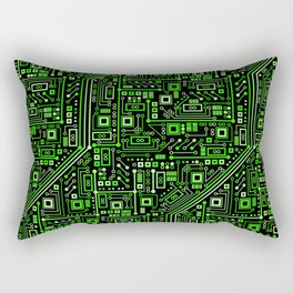 Short Circuits Rectangular Pillow