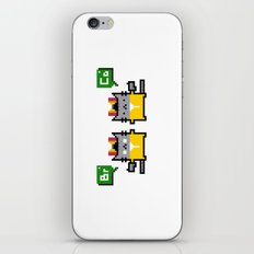Breaking Cat iPhone & iPod Skin