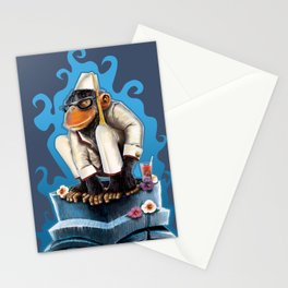 Cosmo At The Moon Palace Stationery Cards