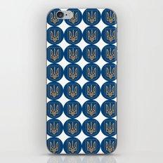 Ukrainian trizub iPhone & iPod Skin