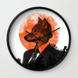 The real Wolf of Wall Street Wall Clock