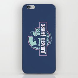 Jurassic Shark - Great White Shark iPhone Skin