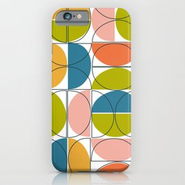 springtime half moons iPhone Case